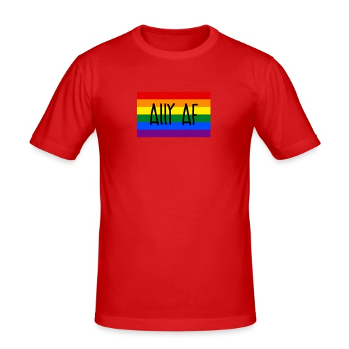 ally af - Männer Slim Fit T-Shirt