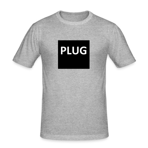 PLUG - Mannen slim fit T-shirt