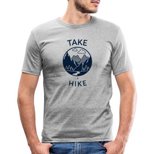 take a hike 2 - Männer Slim Fit T-Shirt