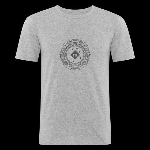 MSORT8562 - T-shirt près du corps Homme
