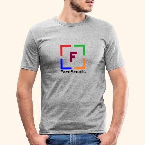 Logo FaceScouts - T-shirt près du corps Homme