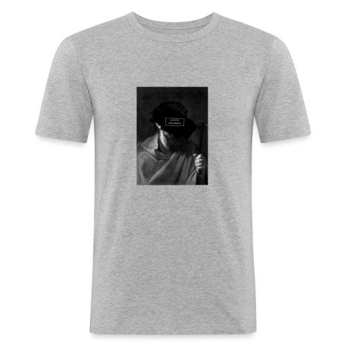 MODERN CRUSADER - Mannen slim fit T-shirt