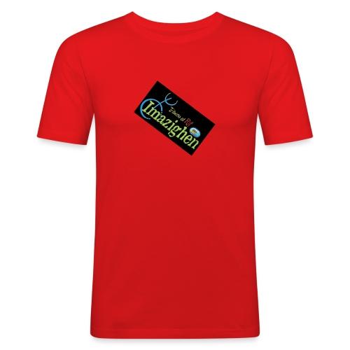 Imazighen ithran rif - Mannen slim fit T-shirt