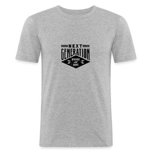 Diseño vintage Next Generation - Men's Slim Fit T-Shirt