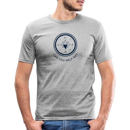 Can you help me - Männer Slim Fit T-Shirt