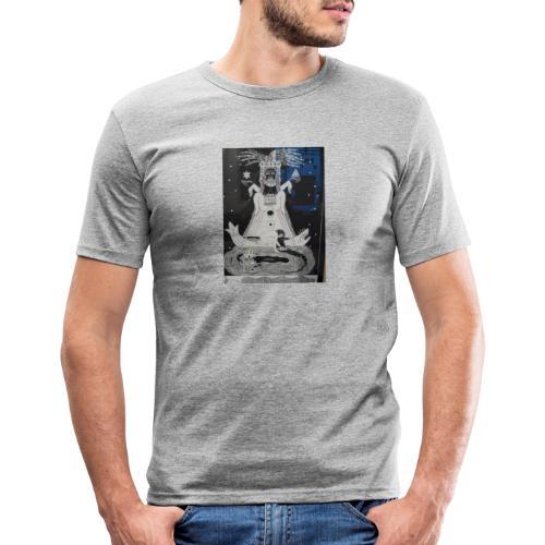 Ecriture oeuvre Julie Jardel - T-shirt près du corps Homme