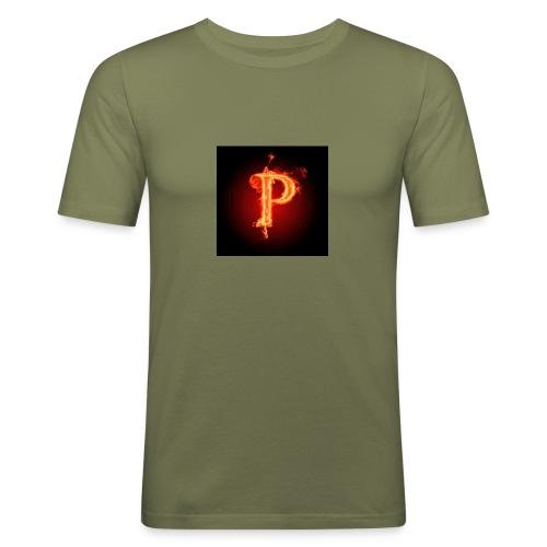 Power player nuovo logo - Maglietta aderente da uomo