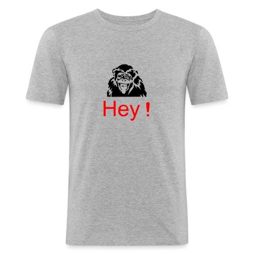 hey! monkey - T-shirt près du corps Homme
