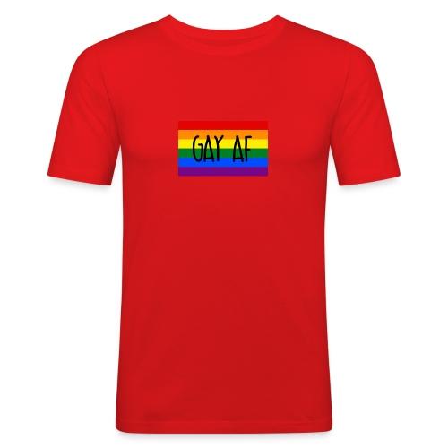 gay af - Männer Slim Fit T-Shirt