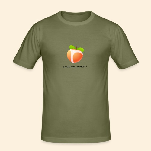 Look my peach - T-shirt près du corps Homme
