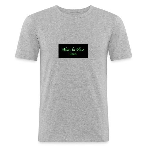 Abat la Hess - T-shirt près du corps Homme