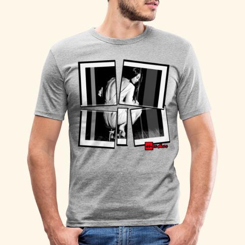 asia art 3 - T-shirt près du corps Homme
