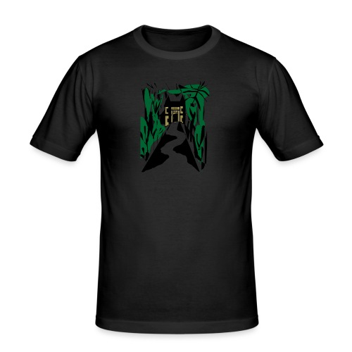 HALLOWEEN SPOOKY HAUNTED MANSION 2017 - Männer Slim Fit T-Shirt