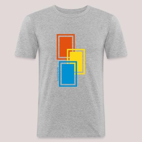 rectangular 1 - Maglietta aderente da uomo