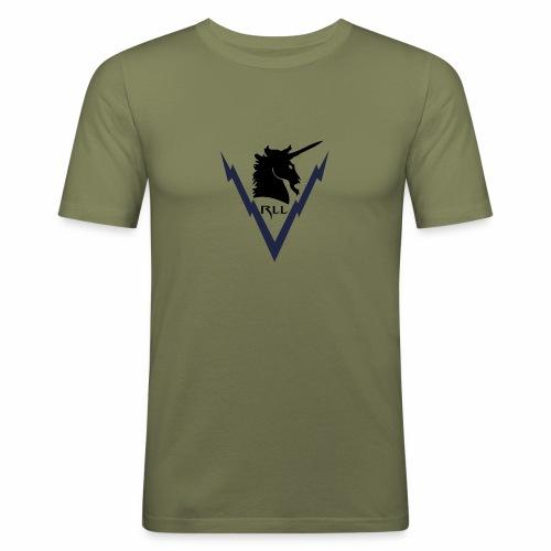 Brand RLL Color - Maglietta aderente da uomo