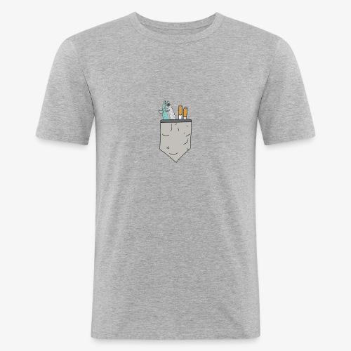 brusttaeschle - Männer Slim Fit T-Shirt