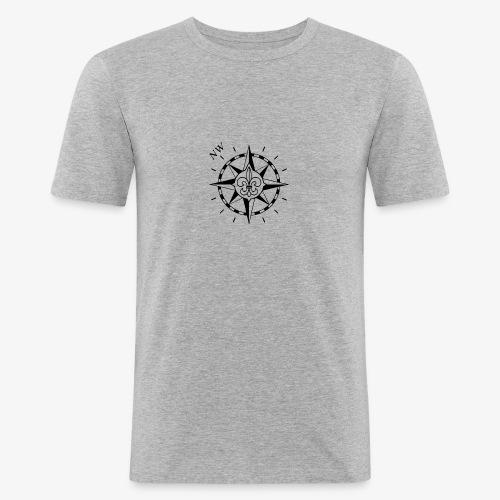 Nordwest - Miesten tyköistuva t-paita
