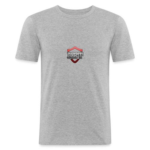Kbt logo - Men's Slim Fit T-Shirt