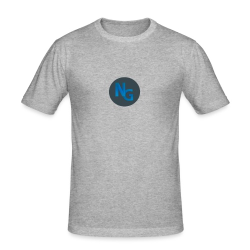 NG Logo - Herre Slim Fit T-Shirt