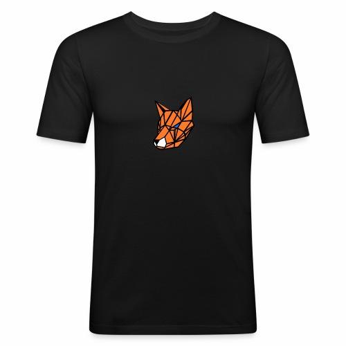 renard geometrique - T-shirt près du corps Homme