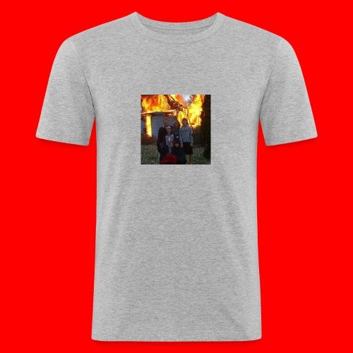 FAMILY - Obcisła koszulka męska