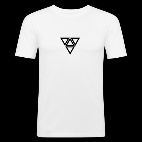 triangle - Maglietta aderente da uomo