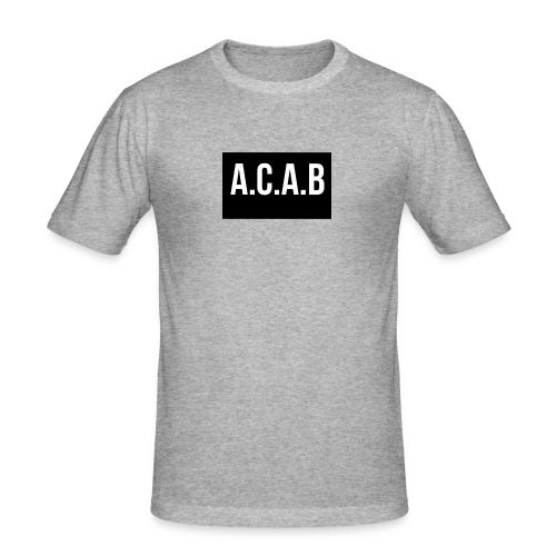 ACAB - Slim Fit T-shirt herr