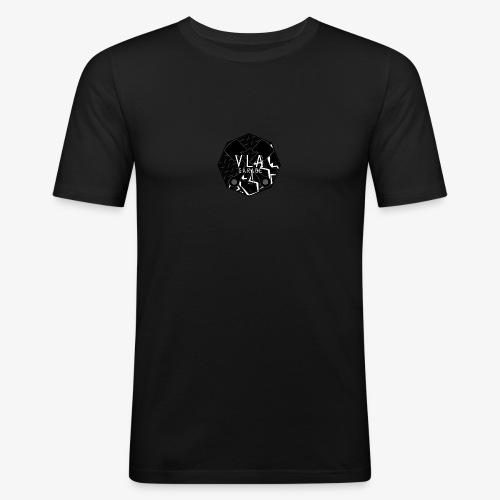 VLA GARAGE - Miesten tyköistuva t-paita