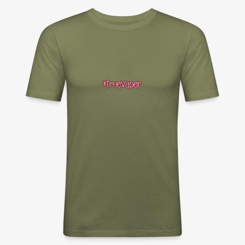 #TrueVaper - Miesten tyköistuva t-paita