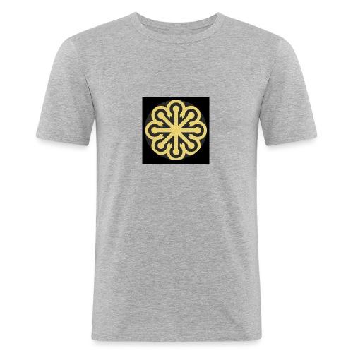 BGLogoGOLD - Men's Slim Fit T-Shirt