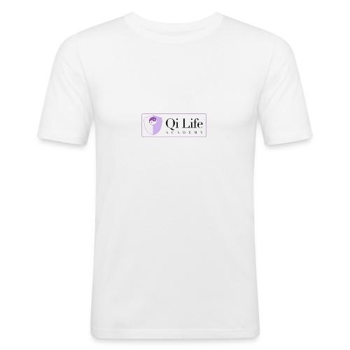 Qi Life Academy Promo Gear - Men's Slim Fit T-Shirt