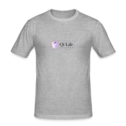 Qi Life Academy Promo Gear - Men's Slim Fit T-Shirt