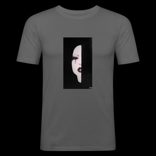 BlackWhitewoman - Maglietta aderente da uomo