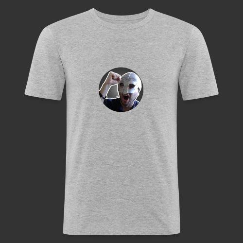 Logo kanału wicek3d na Youtube - Obcisła koszulka męska