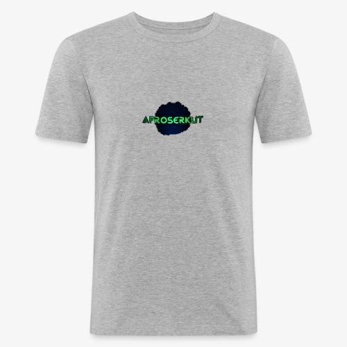 AfroSerkut LOGO - Miesten tyköistuva t-paita