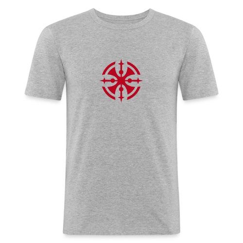 tribal kreuz - Männer Slim Fit T-Shirt