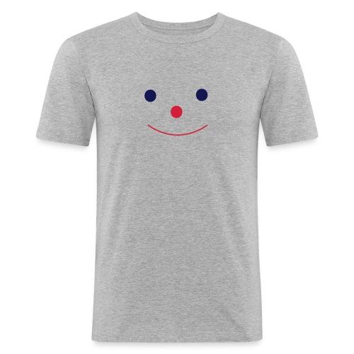 Happy Smileday smiley face - Men's Slim Fit T-Shirt