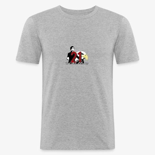 Vinte Um - Men's Slim Fit T-Shirt