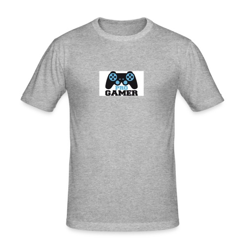Pro-Gamer-Post-w644h362 - Men's Slim Fit T-Shirt