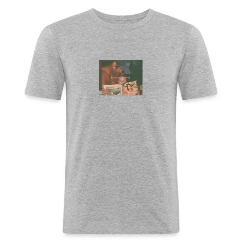 LMF hoodie - Slim Fit T-skjorte for menn