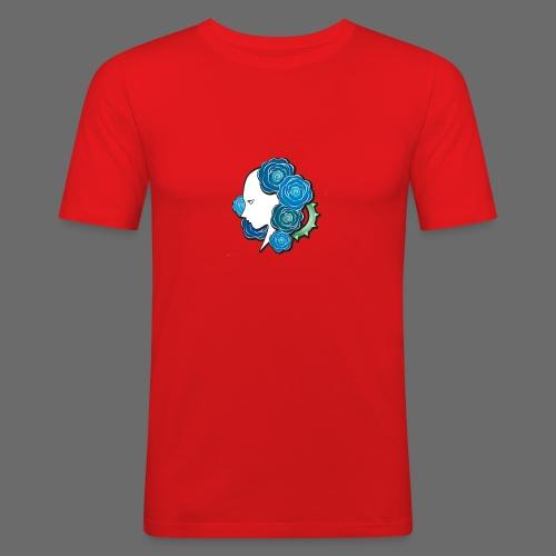 Rosa - T-shirt près du corps Homme