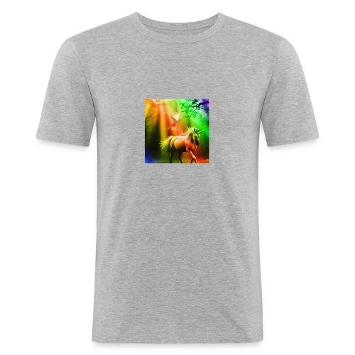 SASSY UNICORN - Men's Slim Fit T-Shirt