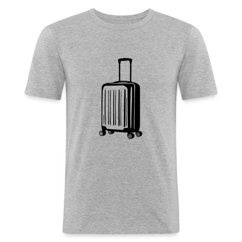 valise vectoriel - T-shirt près du corps Homme