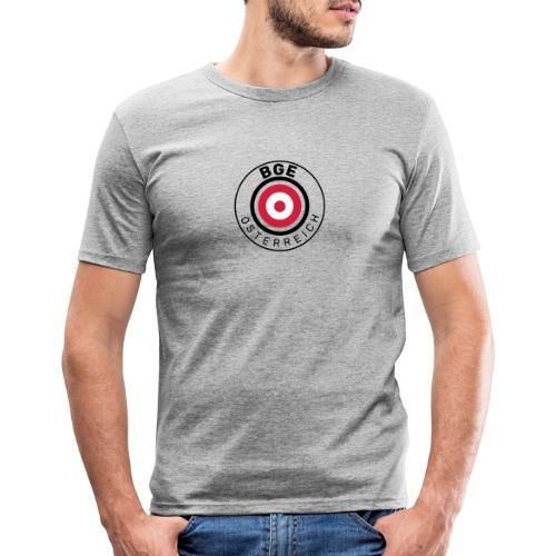 BGE in Österreich mit Fahne - Männer Slim Fit T-Shirt