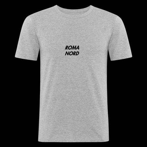 RomaNord1 - Maglietta aderente da uomo