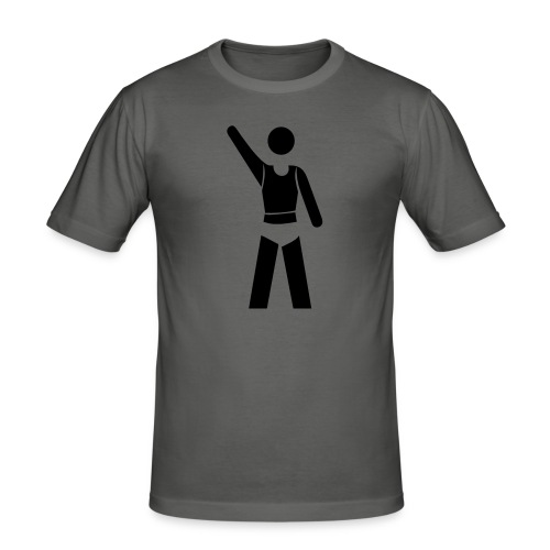 icon - Männer Slim Fit T-Shirt