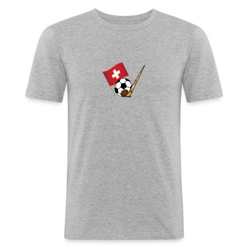 Schweiz Fussballmannschaft - Männer Slim Fit T-Shirt