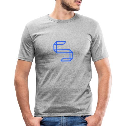 A S A 5 or just A worm? - Mannen slim fit T-shirt