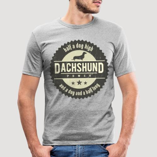 Dachshund Power - slim fit T-shirt