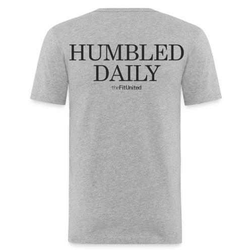 humbled_daily_logo - Men's Slim Fit T-Shirt